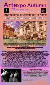 locandina artexpo autumn rome-r